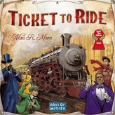 Asmodee Days of Wonder Ticket To Ride Classic Strategy Board Game