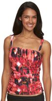 Women's Beach Scene Harmony Ruched Tankini Top