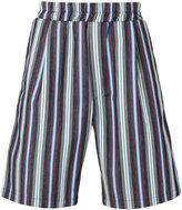 Sunnei striped shorts - men - Cotton - S