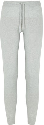 Johnstons of Elgin Loretta Light Grey Cashmere Sweatpants