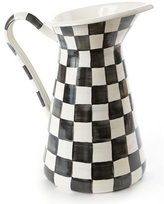 Mackenzie Childs MacKenzie-Childs Courtly Check Enamel Pitcher