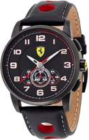 Ferrari 0830059 44mm Stainless Steel Case Leather Mineral Men's Watch