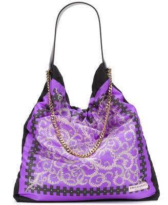 Emilio Pucci x Koche Selva-print shoulder bag