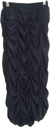 Calypso St. Barth \N Navy Silk Skirt for Women