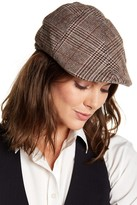 Natasha Accessories Plaid Newsboy Cap