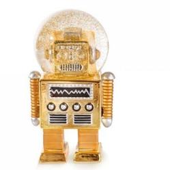 Donkey - Snowglobe Robot Summer Globe Gold