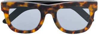 RetroSuperFuture Ciccio angular sunglasses