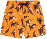 Vilebrequin Killer Whale Print Swim Shorts