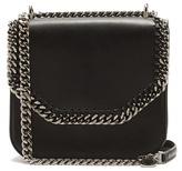 Stella McCartney Falabella mini faux-leather shoulder box bag