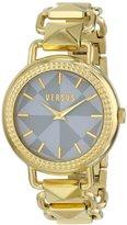 Versus By Versace Women's SOA030014 Coconut Grove Analog Display Quartz Gold Watch