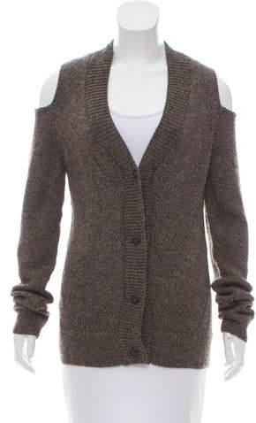Zero Maria Cornejo Cold-Shoulder Knit Cardigan w/ Tags