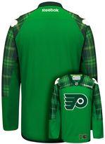 Reebok Men's Philadelphia Flyers Saint Patrick's Day Tartan Plaid Jersey