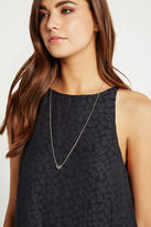 BCBGeneration How Mod Chain Necklace - Silver