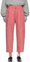 Studio Nicholson Pink Assai Lounge Pants