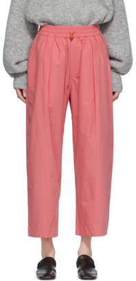Studio Nicholson Pink Assai Lounge Pants