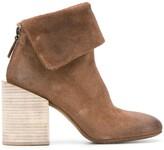 Marsèll textured block heel boots