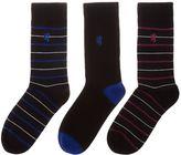 Pringle 3 Pack Stripe Sock