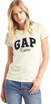 Gap Rome logo crew tee