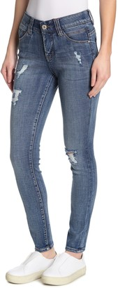 Jag Jeans Cecilia Mid Rise Skinny Jeans