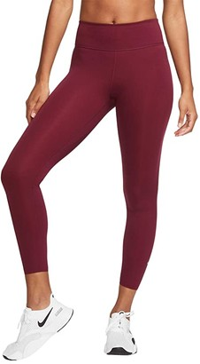 Nike One Luxe 7/8 Tights (Black/Clear) Women's Casual Pants