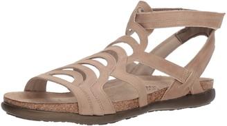 Naot Footwear Women's Sara Sandal Khaki Beige Lthr 4 M US