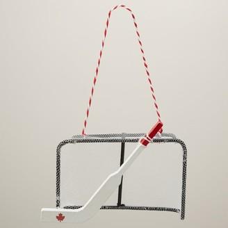 Oui Holiday Hockey Net Ornament