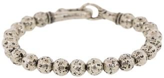 John Varvatos Distressed Beaded Bracelet