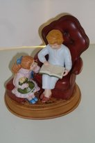 Avon 1983 Enjoying the Night Before Christmas Figurine (3rd in a Series)