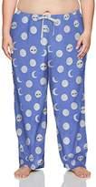 Hue Women's Plus Size Fashion Print Comfort Fit Long Pajama Pant
