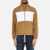 Kenzo Contrast Pocket Keyway Jacket Camel