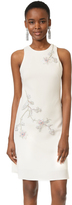 Marchesa A-Line Crepe Dress