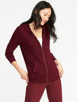 Old Navy Plush Zip Lounge Hoodie for Women