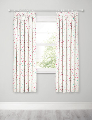 Marks and Spencer Spotty Pencil Pleat Blackout Kids Curtains