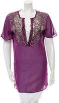Etro Embellished Silk Tunic