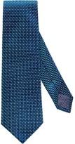 Eton Green Geometric Silk Tie
