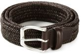 Orciani woven buckled belt - men - Leather - 85