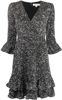 MICHAEL Michael Kors Sequin-Embellished Mini Dress