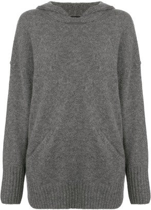 James Perse Lightweight Cashmere Hoodie
