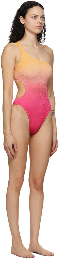 Thumbnail for your product : BOUND by Bond-Eye Pink & Orange 'The Milan' One-Piece Swimsuit