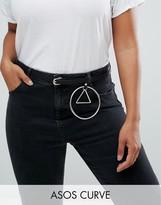 Asos Ring Triangle Detail Jean Belt