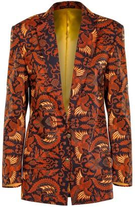 Relax Baby Be Cool Womens Oversized Blazer Garuda