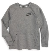 Nike Boy's Sportswear Tech Fleece Sweatshirt