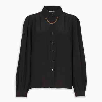 Givenchy Silk shirt with chain detail