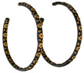 Yossi Harari Large Libra Hoop Earrings