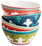 Mudhut Suzani Melamine Bowl Set of 4