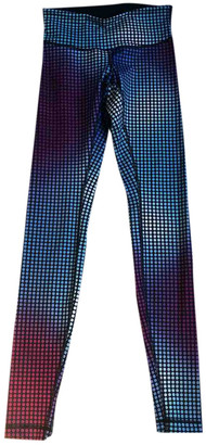 Lululemon Multicolour Cloth Trousers