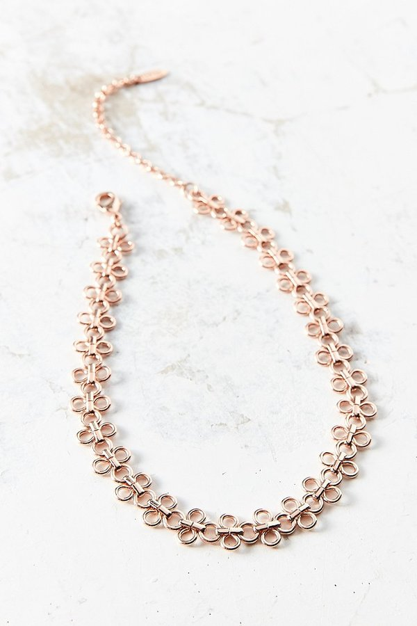 Luv Aj Lace Link Choker Necklace