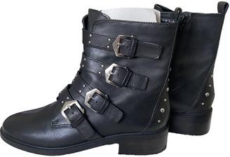 Carvela Black Leather Boots