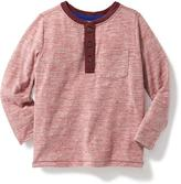 Old Navy Textured Henley for Toddler Boys
