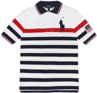 Polo Ralph Lauren Striped cotton-pique polo shirt